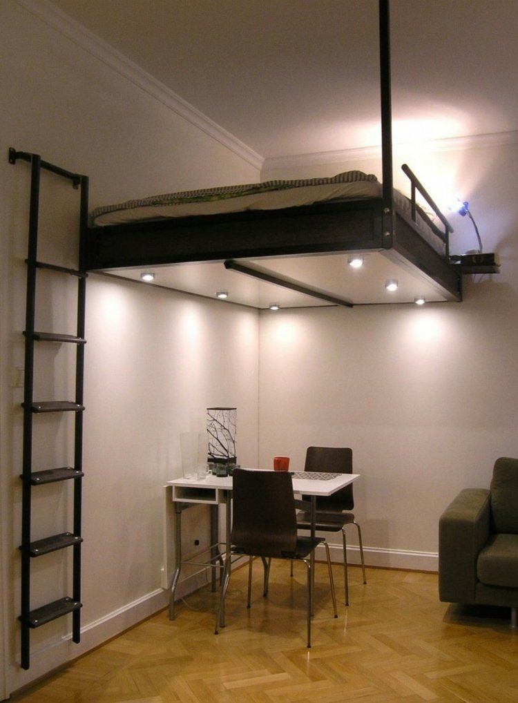 loft bed swedish - 10 great space-saving beds