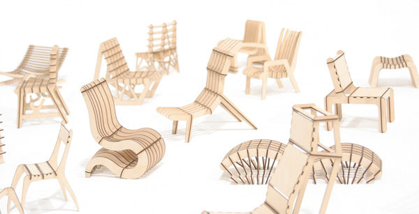 sk6 1 - The free sketchChair software allows you to design and assemble your own furniture