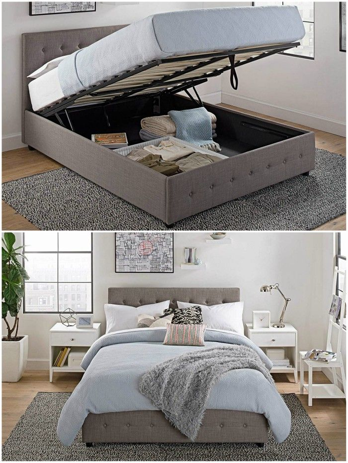 storage lift bed - 10 great space-saving beds