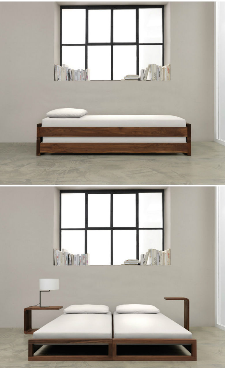 zeitraum guest bed 2 - 10 great space-saving beds