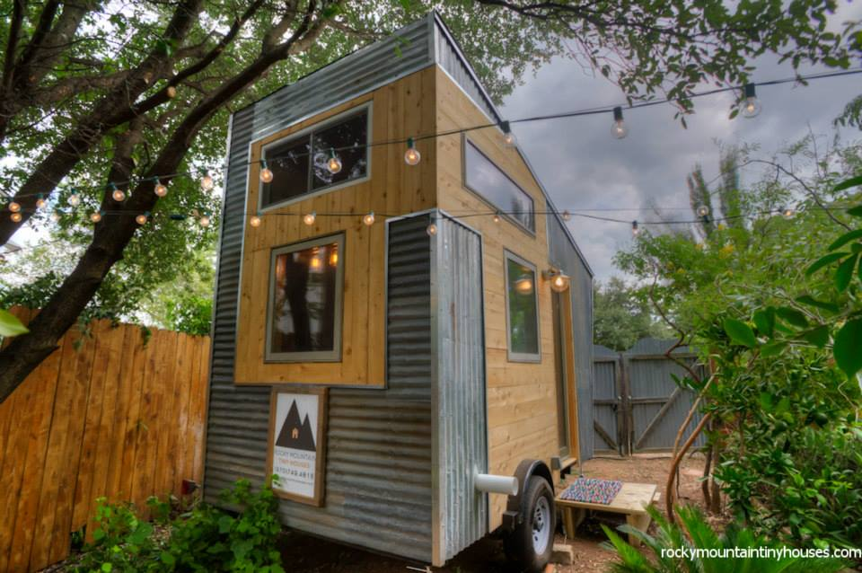 rocky mountain tiny house 2 - New rustic dwelling from Rocky Mountain Tiny Houses