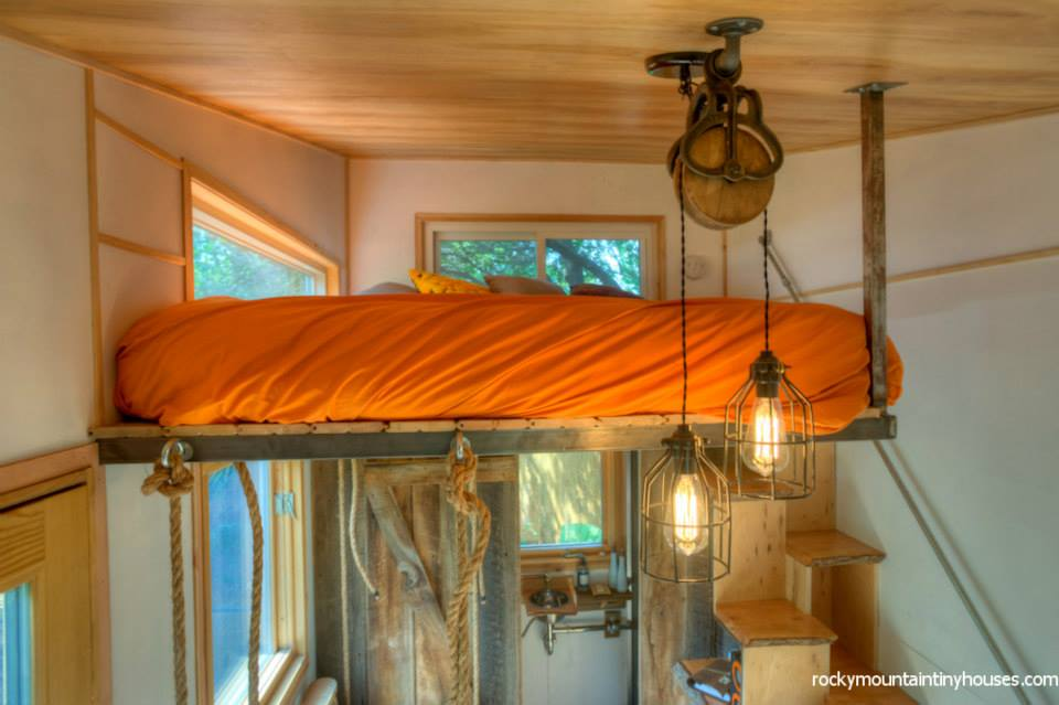 rocky mountain tiny house 21 - New rustic dwelling from Rocky Mountain Tiny Houses