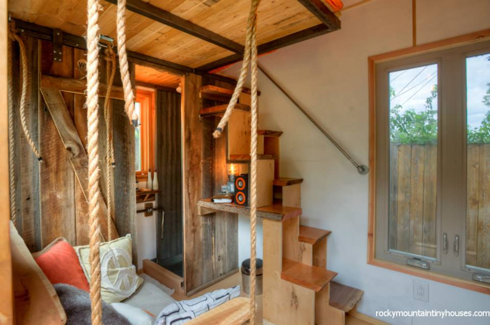 rocky mountain tiny house 3 - New rustic dwelling from Rocky Mountain Tiny Houses