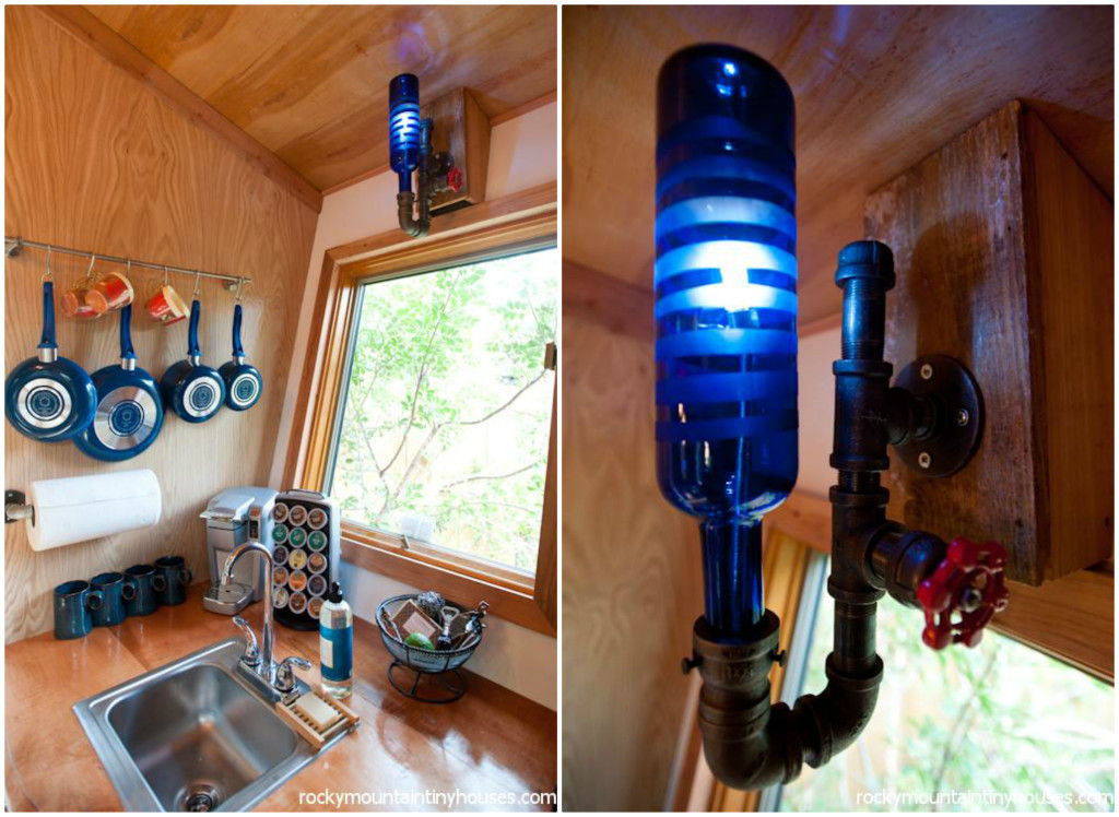rocky mountain tiny house 35 - New rustic dwelling from Rocky Mountain Tiny Houses