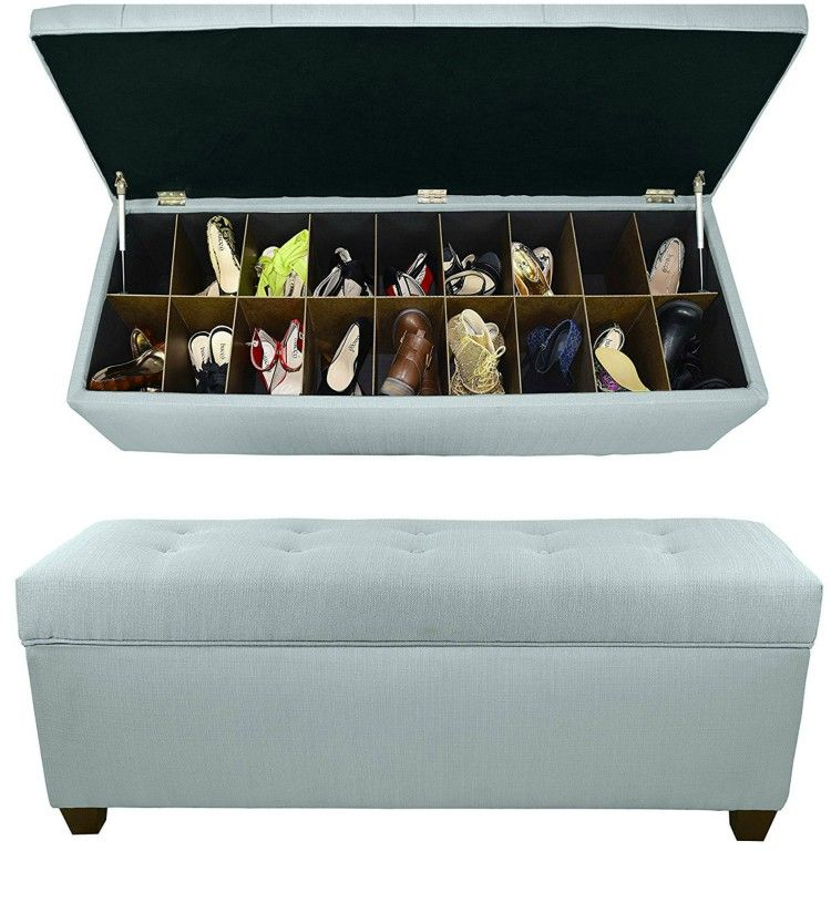 shoe bench storage 1 - 14 great ways to store your shoes