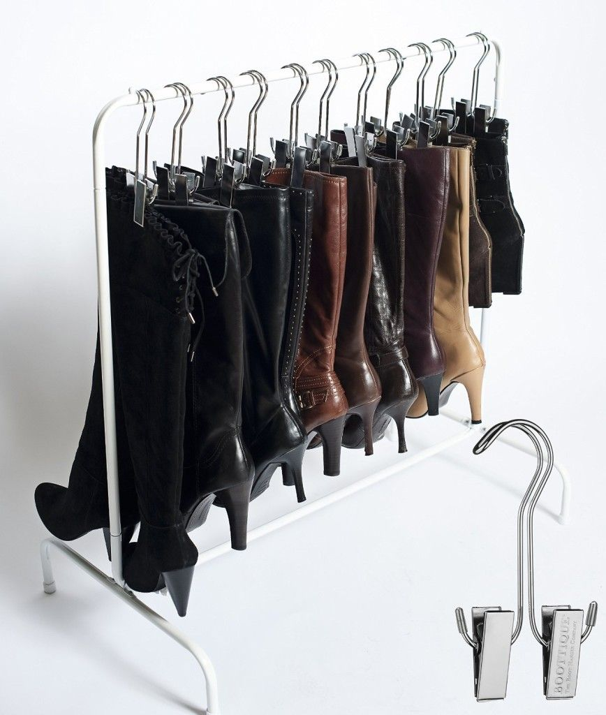 the boot rack - 14 great ways to store your shoes