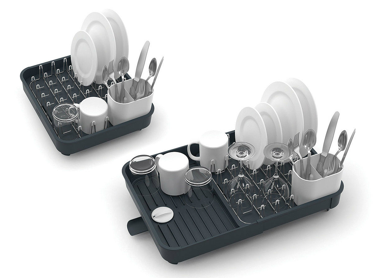 Expandable Dish Rack - Declutter your kitchen with these 10 space-saving ideas