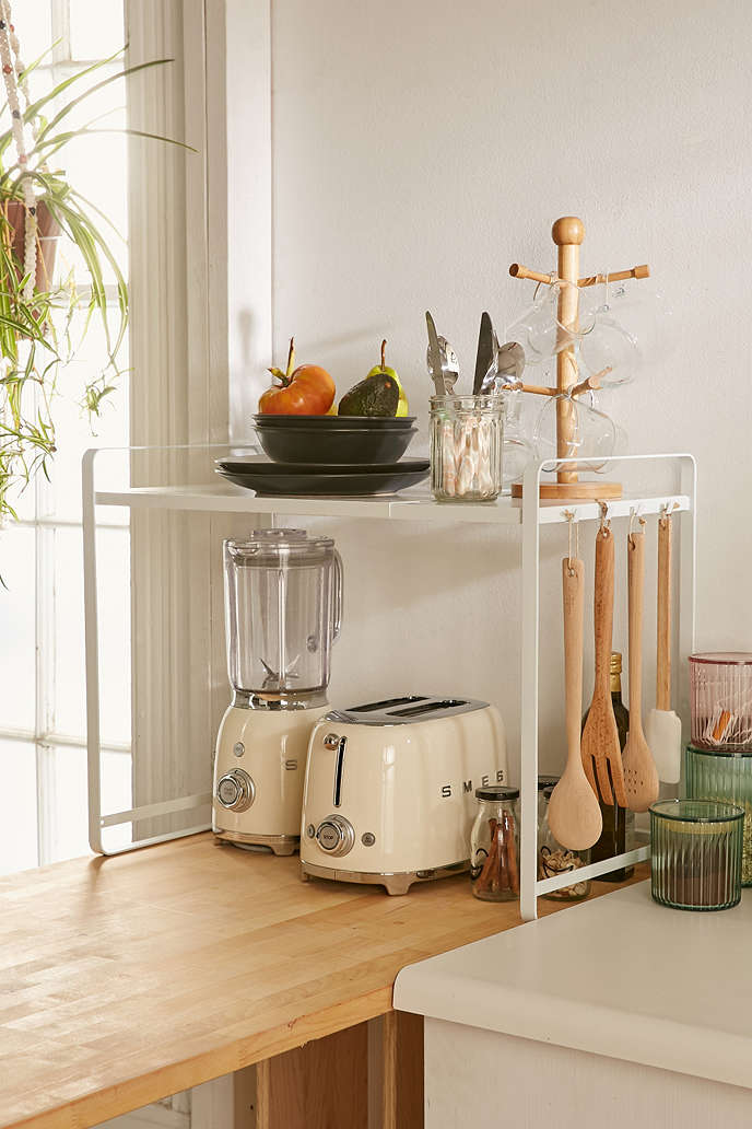 Kitchen Tower Organizer - Declutter your kitchen with these 10 space-saving ideas