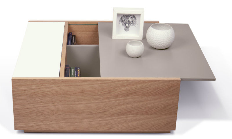 Dann Coffee Table 1 - 17 trendy coffee and side tables with integrated storage
