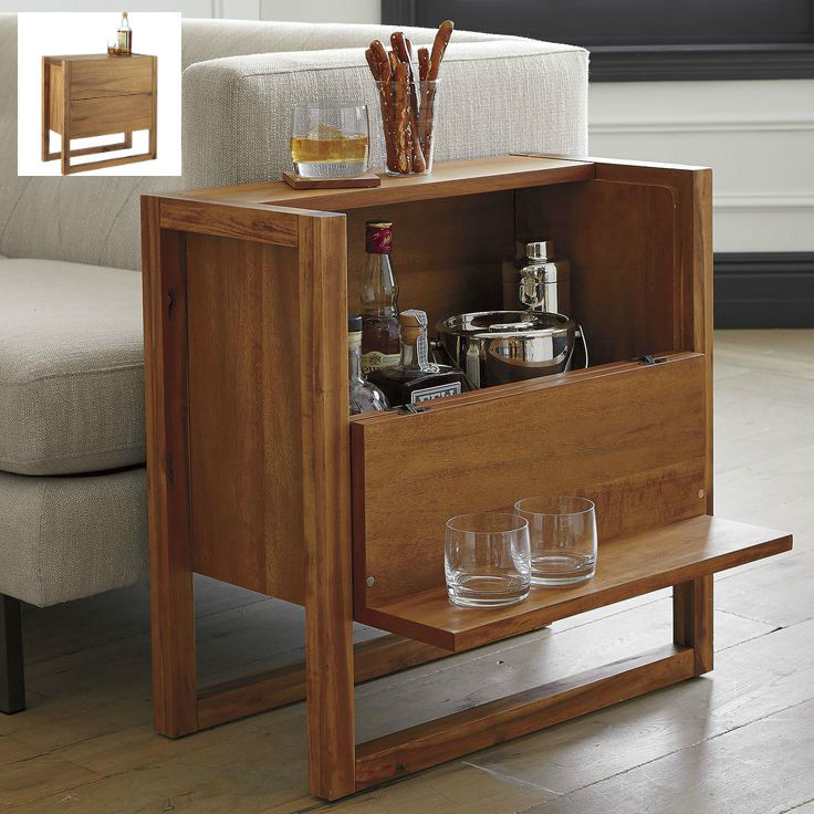 elixir mini bar 1 - 17 trendy coffee and side tables with integrated storage