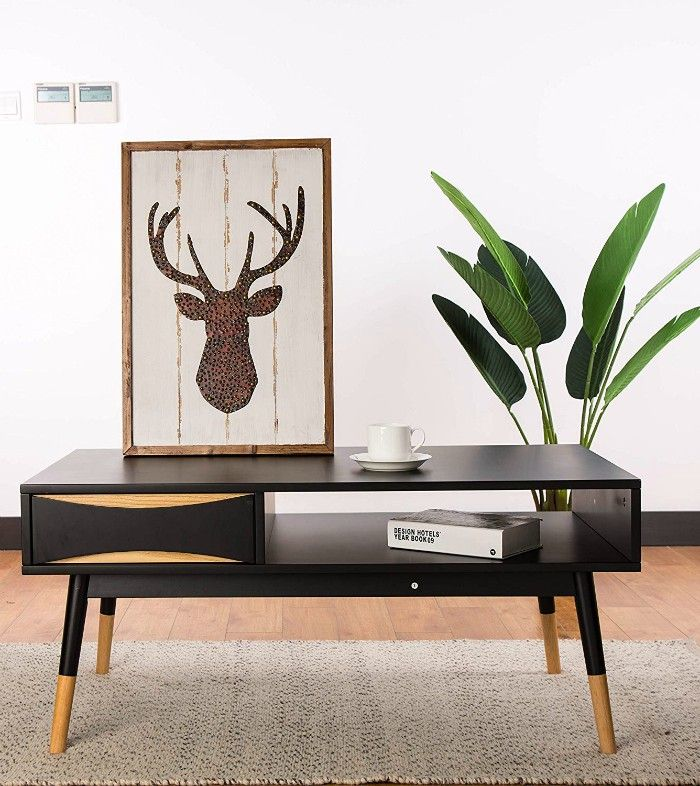 glitzhome offee table - 17 trendy coffee and side tables with integrated storage