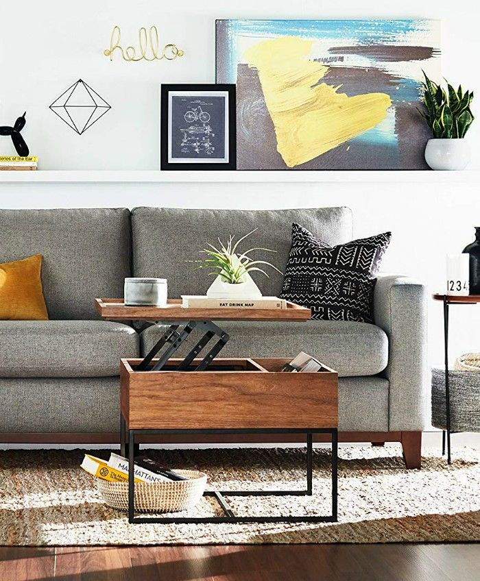 storage coffee table - 17 trendy coffee and side tables with integrated storage
