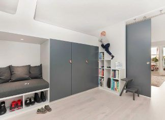 hallway-with-built-in-guest-room-loft-bed-1