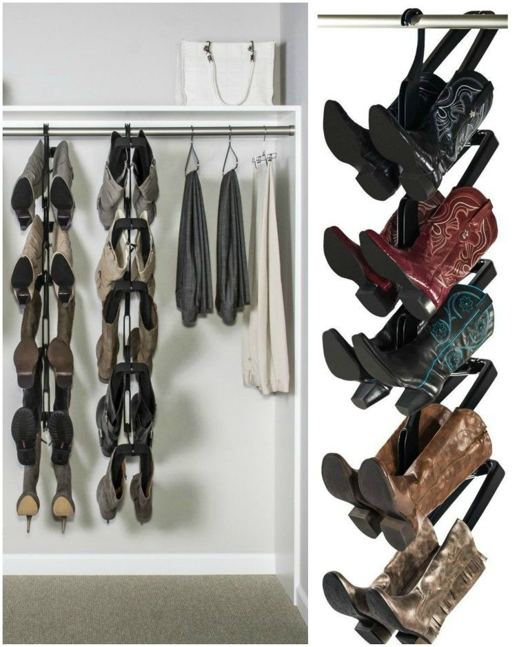Boot Butler Boot Rack ($69.99). Reclaim Your Closet And Extend The Life Of  Your Boots By Preserving Their Shape, Preventing Creases Caused By  Slouching And ...