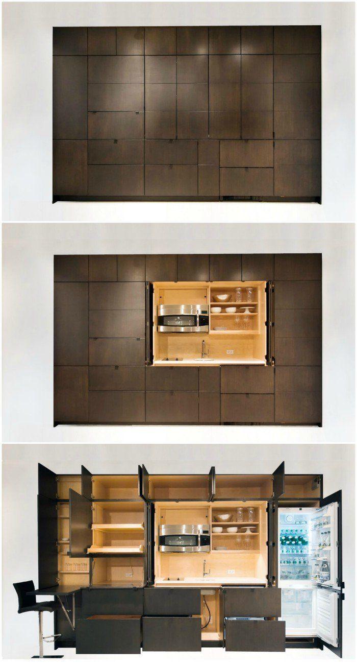 stealth mini kitchen - Nine stunning kitchenettes from around the world