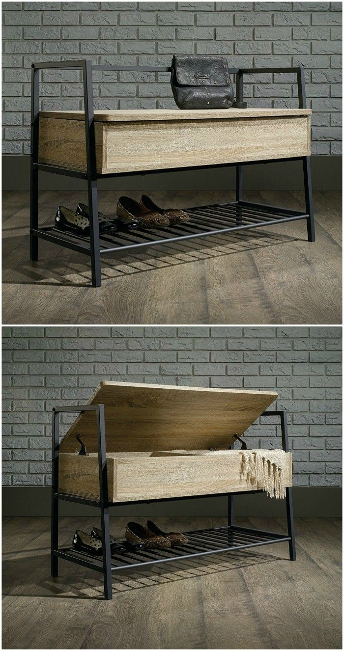 shoe bench - 14 great ways to store your shoes