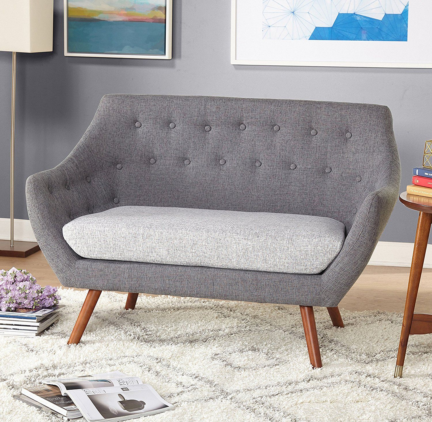 Image of: 14 Stylish Loveseats For Small Space Dwellers And Cuddlers Living In A Shoebox
