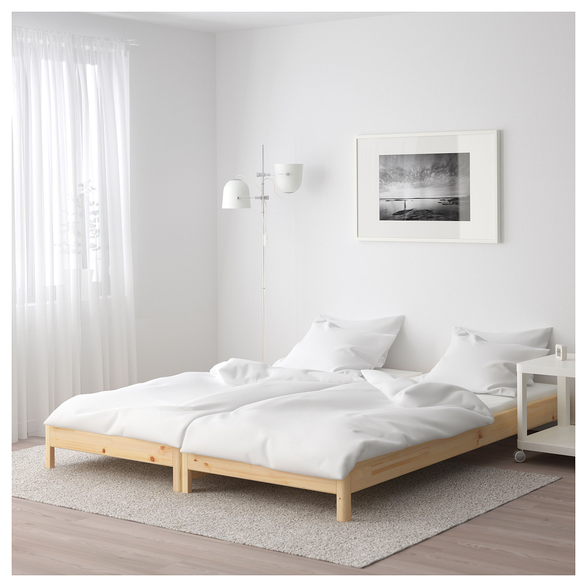 This stackable bed from IKEA is a brilliant solution for ...