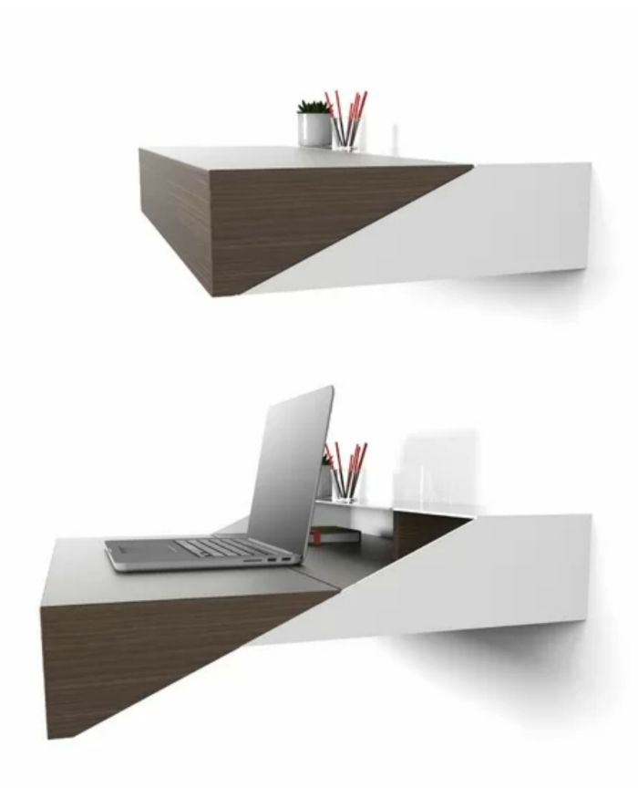 desk - 12 floating desks that look great and take up minimal space