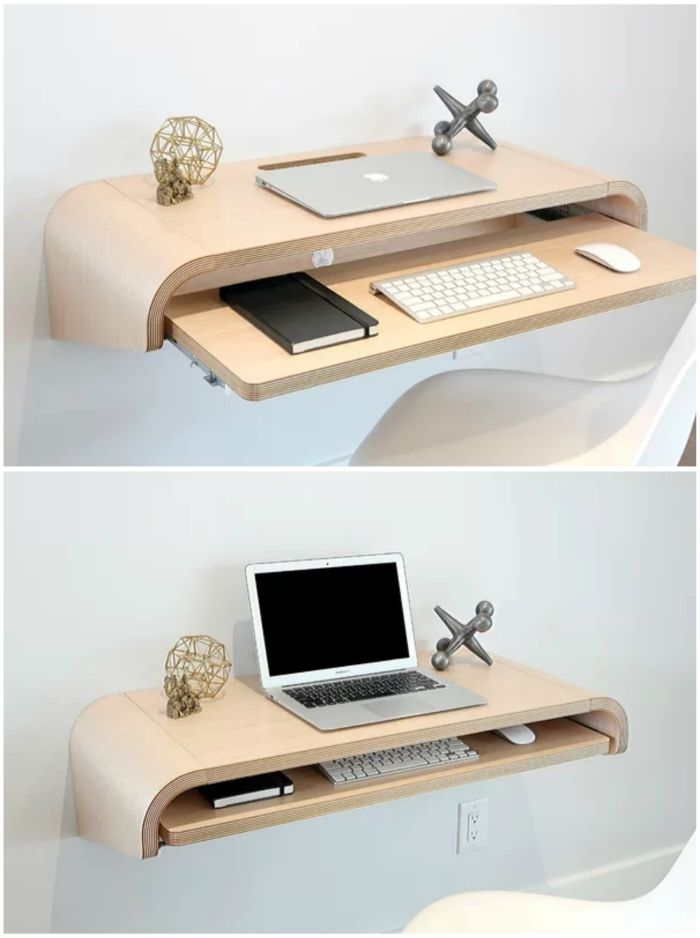 floating desk 1 - 12 floating desks that look great and take up minimal space