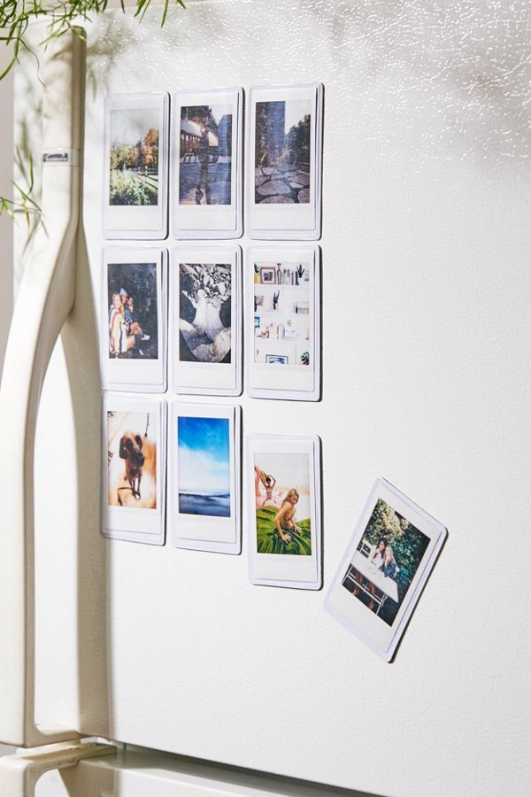 Exclusive Mini Picture Sleeve Magnet Set Of 10 - These 20 photo display ideas will give your memories a stylish edge