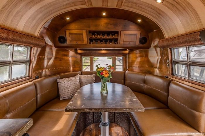 Featured Image Virginia Airstream by Timeless Travel Trailers - All class aboard this renovated 1953 Airstream Flying Cloud