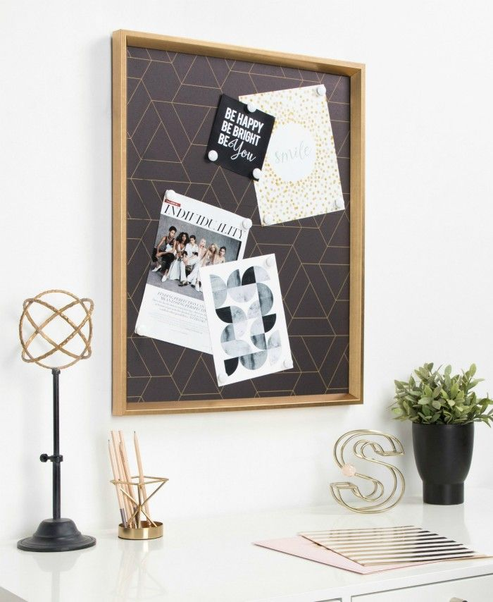 Framed Magnetic Printed Canvas - These 20 photo display ideas will give your memories a stylish edge
