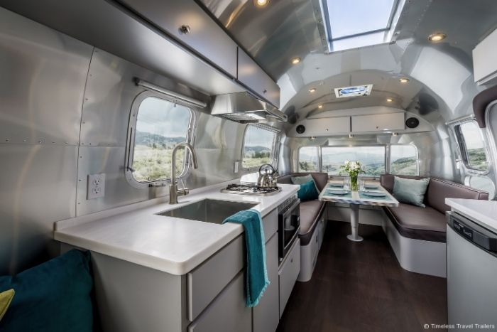 Modern Kansas Airstream by Timeless Travel Trailers 12 - This sleek Airstream is everything a modern family could want