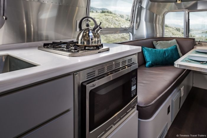 Modern Kansas Airstream by Timeless Travel Trailers 21 - This sleek Airstream is everything a modern family could want
