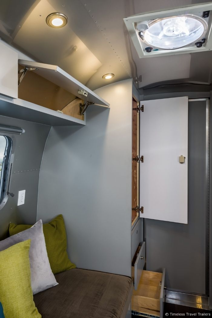 Modern Kansas Airstream by Timeless Travel Trailers 7 - This sleek Airstream is everything a modern family could want