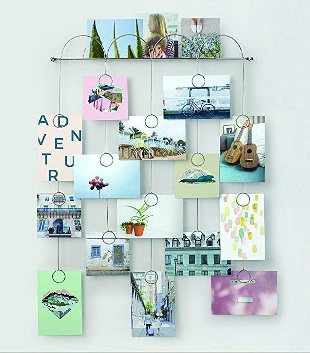 Umbra Trickle Photo Display - These 20 photo display ideas will give your memories a stylish edge
