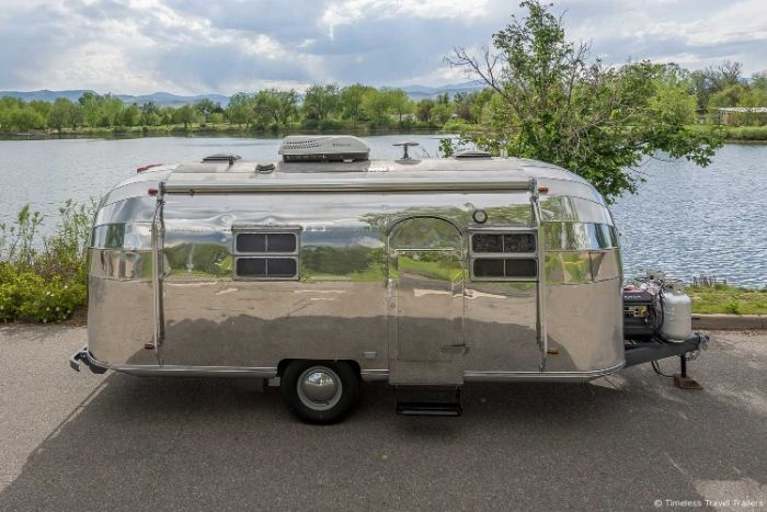 Virginia Airstream by Timeless Travel Trailers 1 - All class aboard this renovated 1953 Airstream Flying Cloud