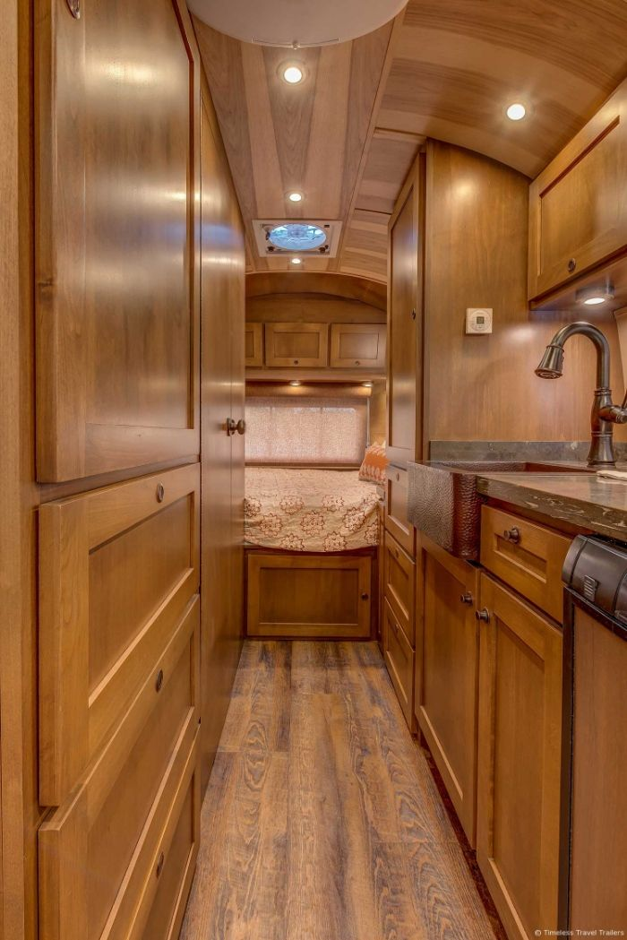 Virginia Airstream by Timeless Travel Trailers 12 - All class aboard this renovated 1953 Airstream Flying Cloud