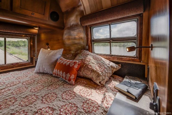 Virginia Airstream by Timeless Travel Trailers 13 - All class aboard this renovated 1953 Airstream Flying Cloud