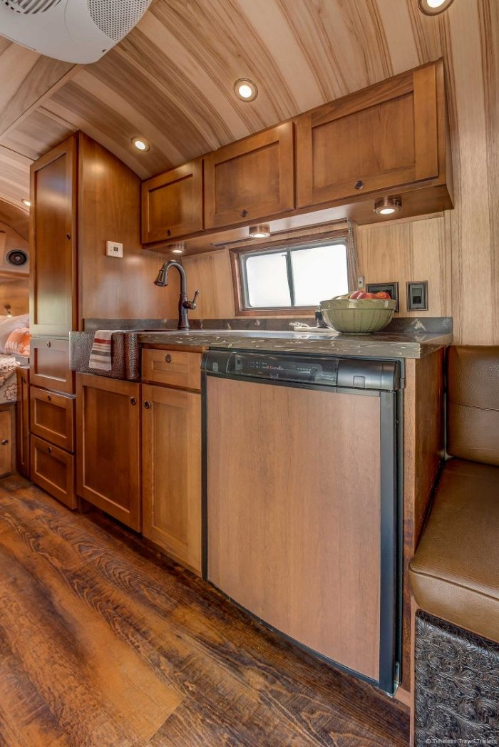 Virginia Airstream by Timeless Travel Trailers 8 - All class aboard this renovated 1953 Airstream Flying Cloud