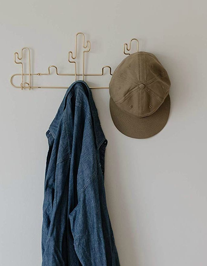 ca - 16 stylish coat hooks that double as wall décor