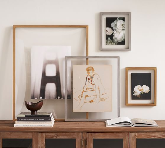 floating photo frame - These 20 photo display ideas will give your memories a stylish edge