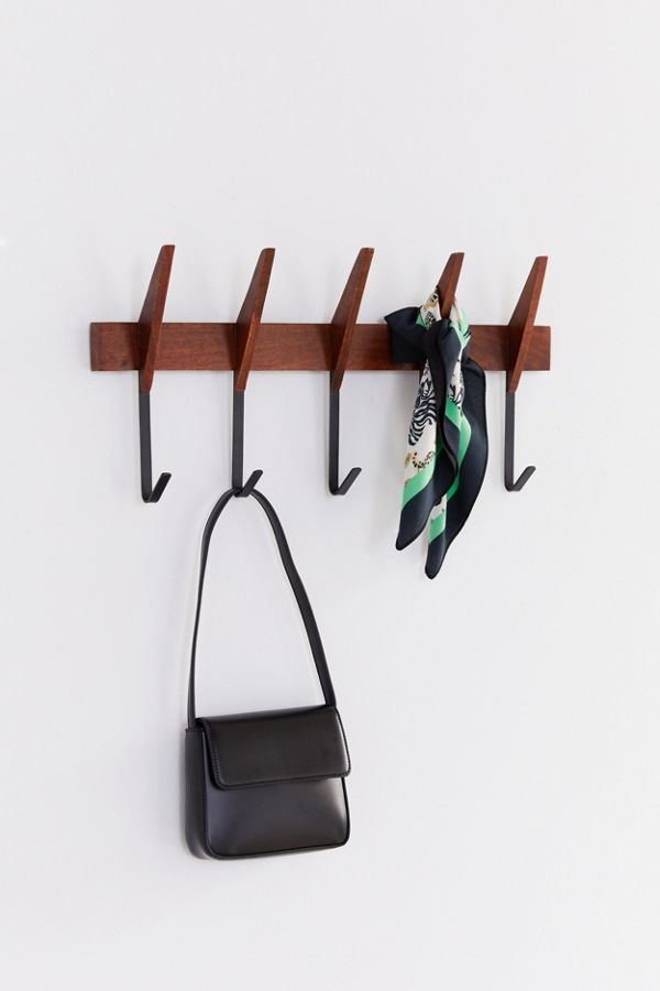 midcentury wall hooks - 16 stylish coat hooks that double as wall décor