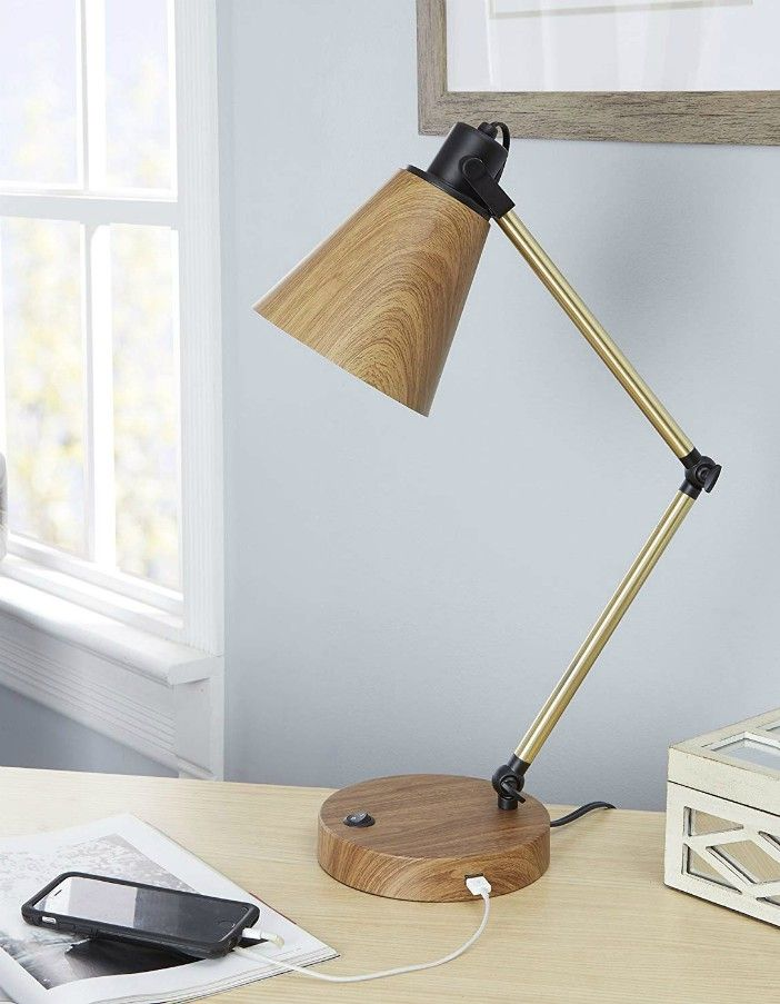 silwerwood desk lamp - 18 stylish desk lamps that will brighten your home office