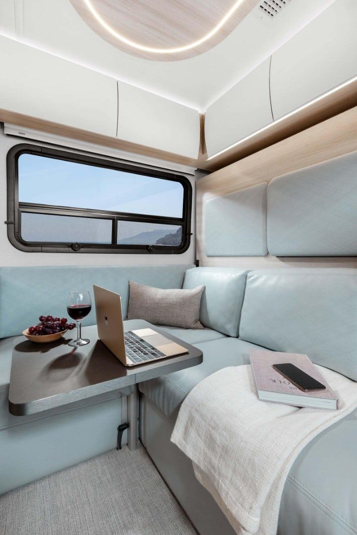 sprinter camper 1 - New campervan from Leisure Vans boasts space-saving murphy bed and two living areas