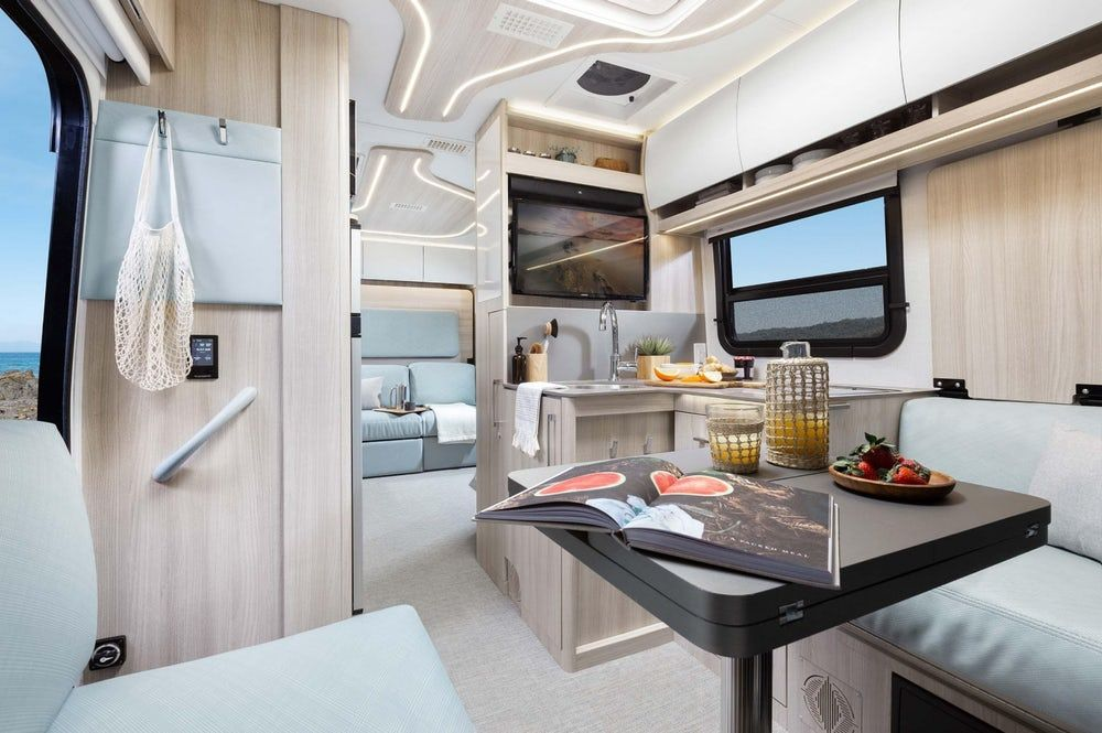 sprinter camper 11 - New campervan from Leisure Vans boasts space-saving murphy bed and two living areas