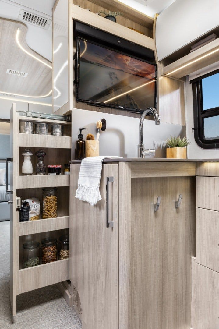 sprinter camper 5 - New campervan from Leisure Vans boasts space-saving murphy bed and two living areas