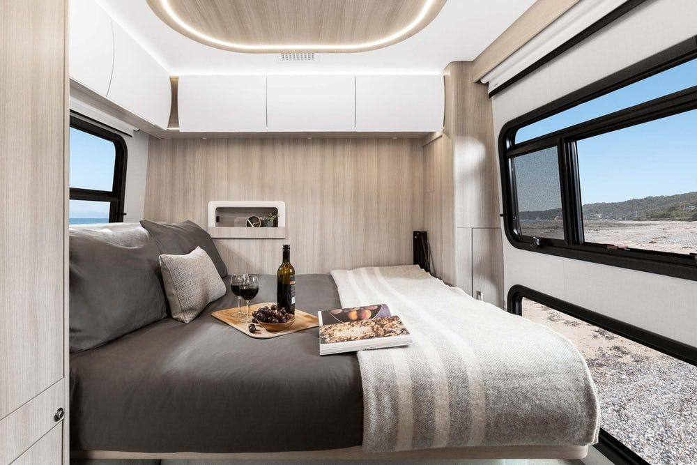 sprinter camper 9 - New campervan from Leisure Vans boasts space-saving murphy bed and two living areas