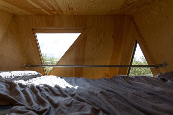 Kudhva Wilderness Cabins 7 - Secluded wilderness cabins offer a fantastic view of the Cornish landscape