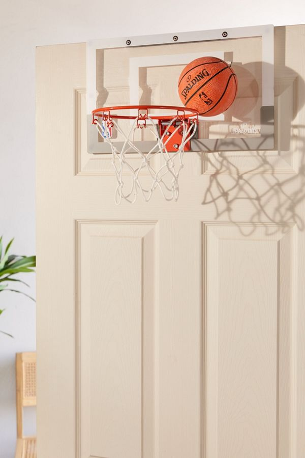 Spalding Over The Door Slam Dunk Mini Basketball Hoop - Turn your doors into storage space with these 20 clever ideas