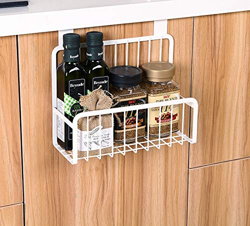 cabinet organzier - Turn your doors into storage space with these 20 clever ideas