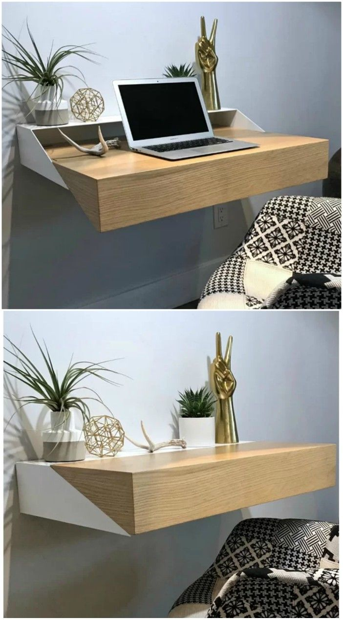 15 Gorgeous Desks That Work Well In Small Spaces Living In A Shoebox
