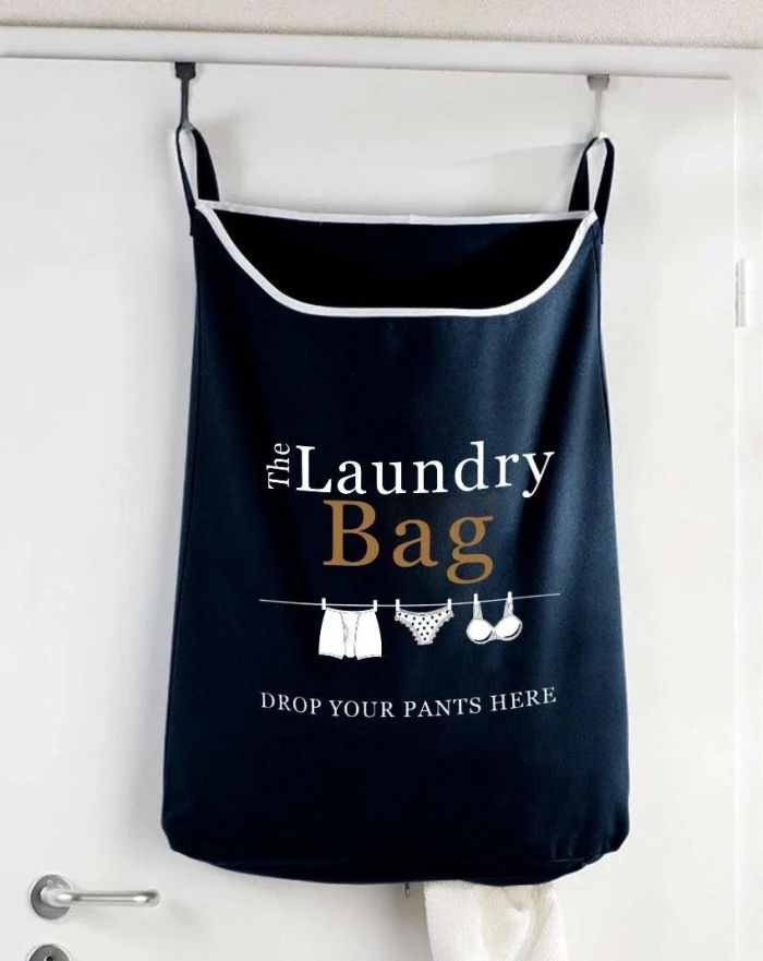 over door laundry bag.webp  - Turn your doors into storage space with these 20 clever ideas