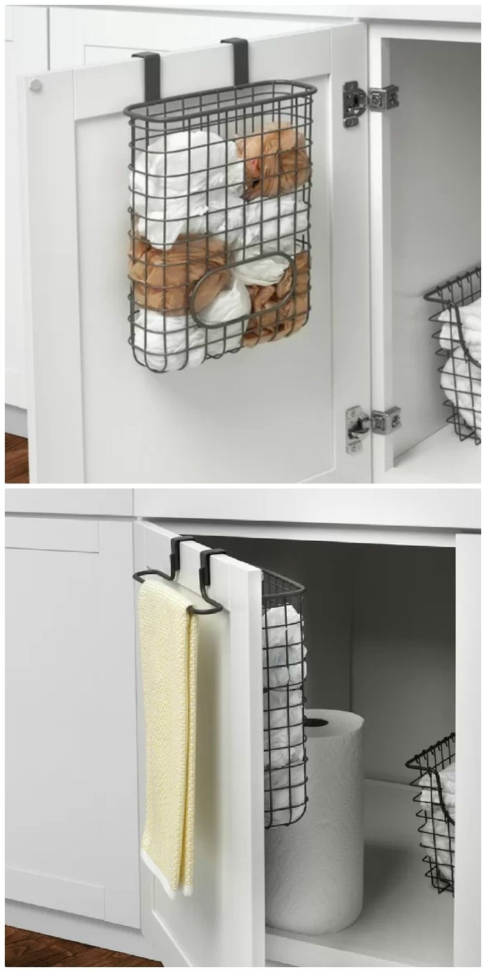 over door towel bag holder - Turn your doors into storage space with these 20 clever ideas