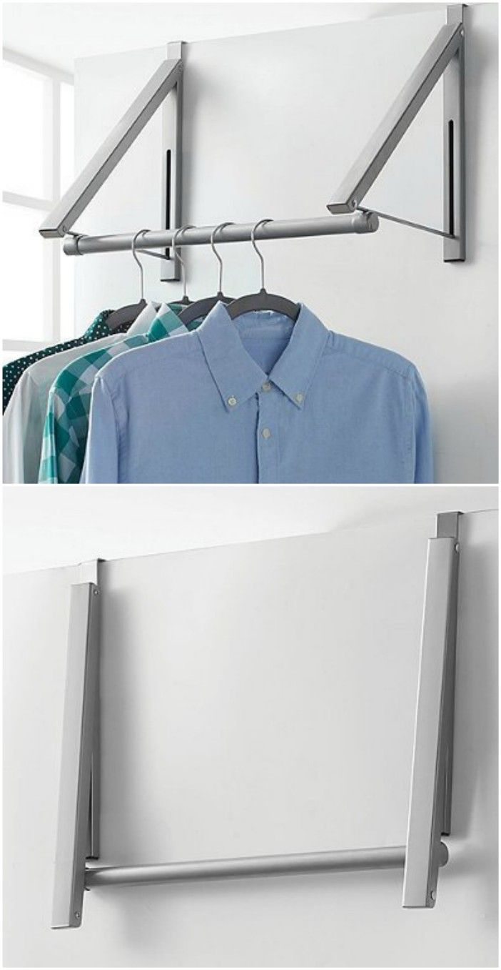 rack over door - Turn your doors into storage space with these 20 clever ideas